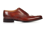 The West II Wingtip Oxford - Marrone