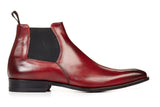 The Wayne Low-Cut Chelsea Boot - Oxblood