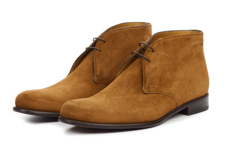 The Newman Chukka Boot - Cacao Suede