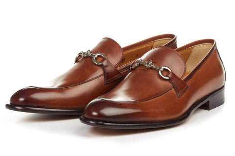 The Caine Bit Loafer - Havana Brown