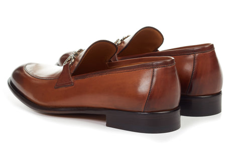 The Caine Bit Loafer - Cacao