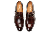 The Olivier Single Monk Strap - Chocolate