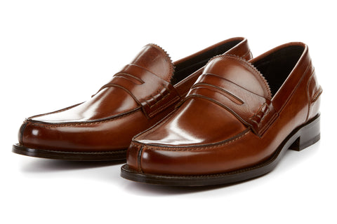 The Kingsley Penny Loafer - Havana Brown