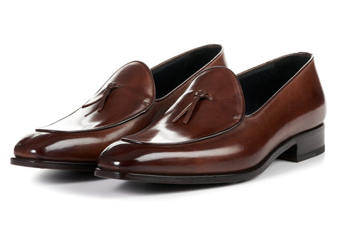 The Van Damme Belgian Loafer - Marrone