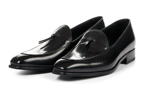 The Van Damme Belgian Loafer - Nero
