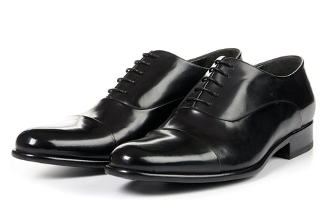 The Cagney Cap-Toe Oxford - Nero