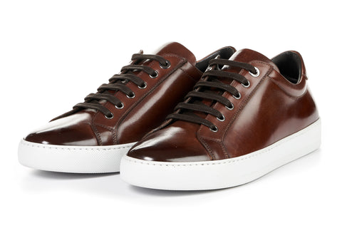 The Smith Low-Top Sneaker - Marrone - White Sole