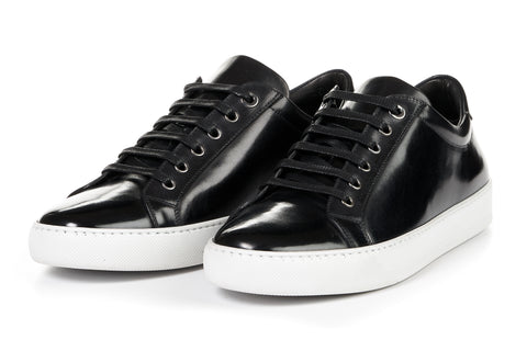 The Smith Low-Top Sneaker - Nero - White Sole