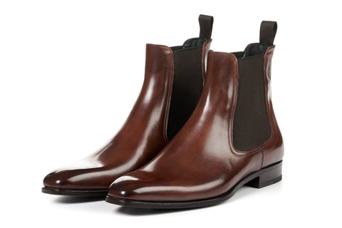 The Dean Chelsea Boot - Marrone