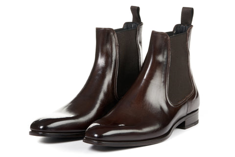 The Dean Chelsea Boot - Chocolate