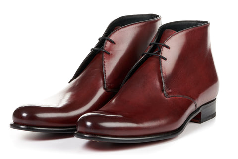 The Newman Chukka Boot - Oxblood