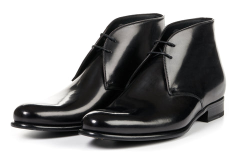 The Newman Chukka Boot - Nero