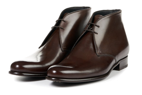 The Newman Chukka Boot - Chocolate
