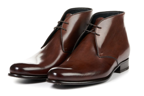 The Newman Chukka Boot - Marrone