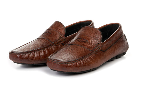 The McQueen Driving Loafer - Havana Brown