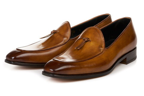 The Van Damme Belgian Loafer - Tobacco