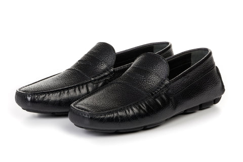 The McQueen Driving Loafer - Nero