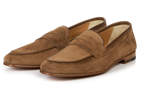 The Louis Penny Loafer - Coriander