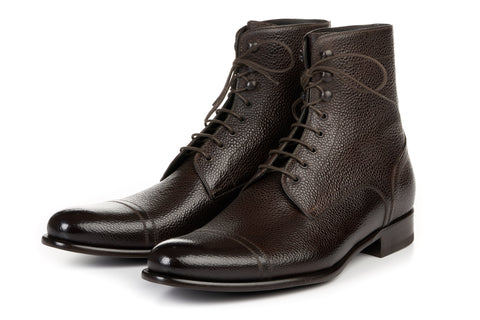 The Jackman Cap-Toe Boot - Chocolate