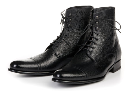 The Jackman Cap-Toe Boot - Nero