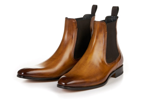 The Dean Chelsea Boot - Tobacco