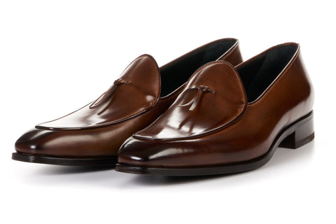 The Van Damme Belgian Loafer - Brown