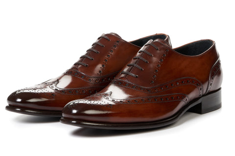 The West II Wingtip Oxford - Brown