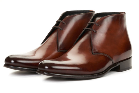 The Newman Chukka Boot - Brown