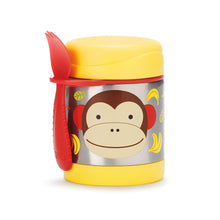 Load image into Gallery viewer, Zoo Insulated Little Kid Food Jar | Monkey