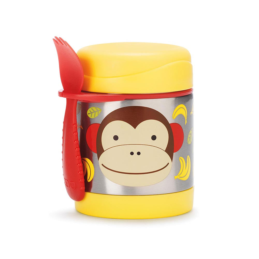 Zoo Insulated Little Kid Food Jar | Monkey
