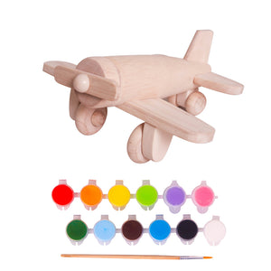Paint and Play Airplane Kit
