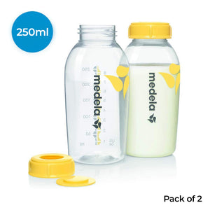 Breast milk Bottles, 250 ml, Pack of 2