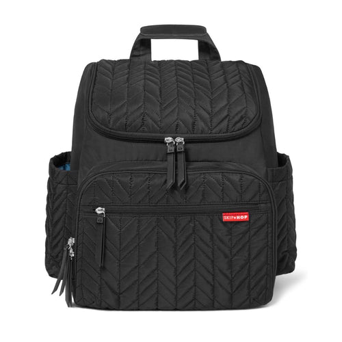 Forma Backpack Diaper Bag - Jet Black