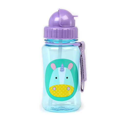 Zoo Straw Bottle | Unicorn