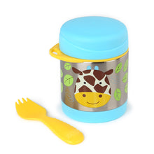 Load image into Gallery viewer, Zoo Insulated Little Kid Food Jar | Giraffe