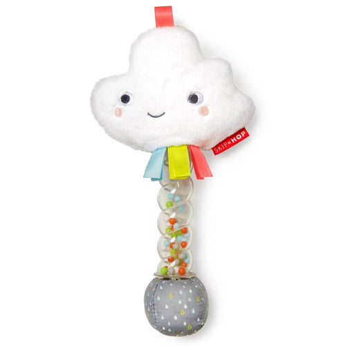 Silver Lining Cloud Rainstick Rattle