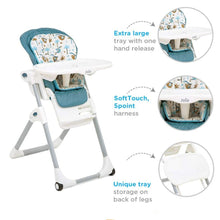 Load image into Gallery viewer, Tropical Paradise Meet Mimzy 2 in1 High Chair