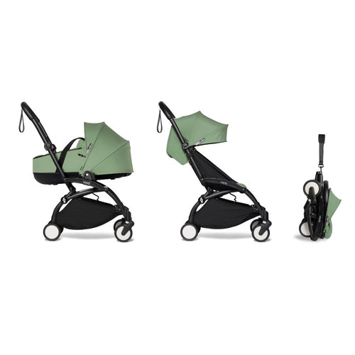 YOYO² Complete Stroller (Frame, Bassinet, 6+ pack) - Peppermint