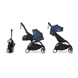YOYO² Complete Stroller (Frame, Newborn pack, 6+ pack) - Air France Blue (Special Edition)