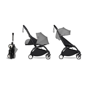 YOYO² Complete Stroller (Frame, Newborn pack, 6+ pack) - Grey