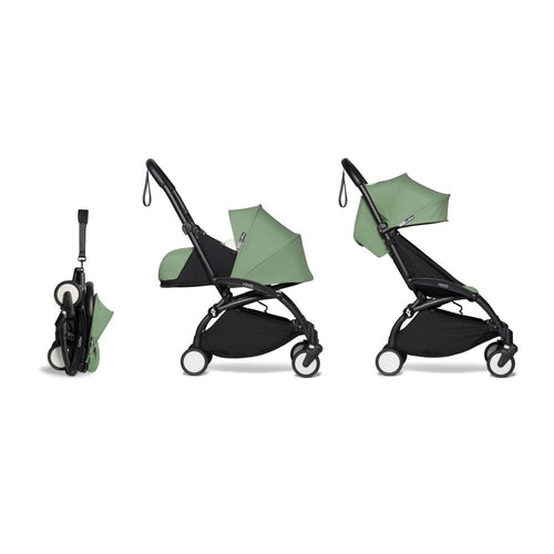 YOYO² Complete Stroller (Frame, Newborn pack, 6+ pack) - Peppermint