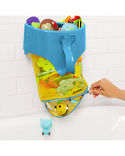 Load image into Gallery viewer, Moby Scoop & Splash Bath Toy Organizer