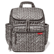 Load image into Gallery viewer, Forma Backpack Grey Feather