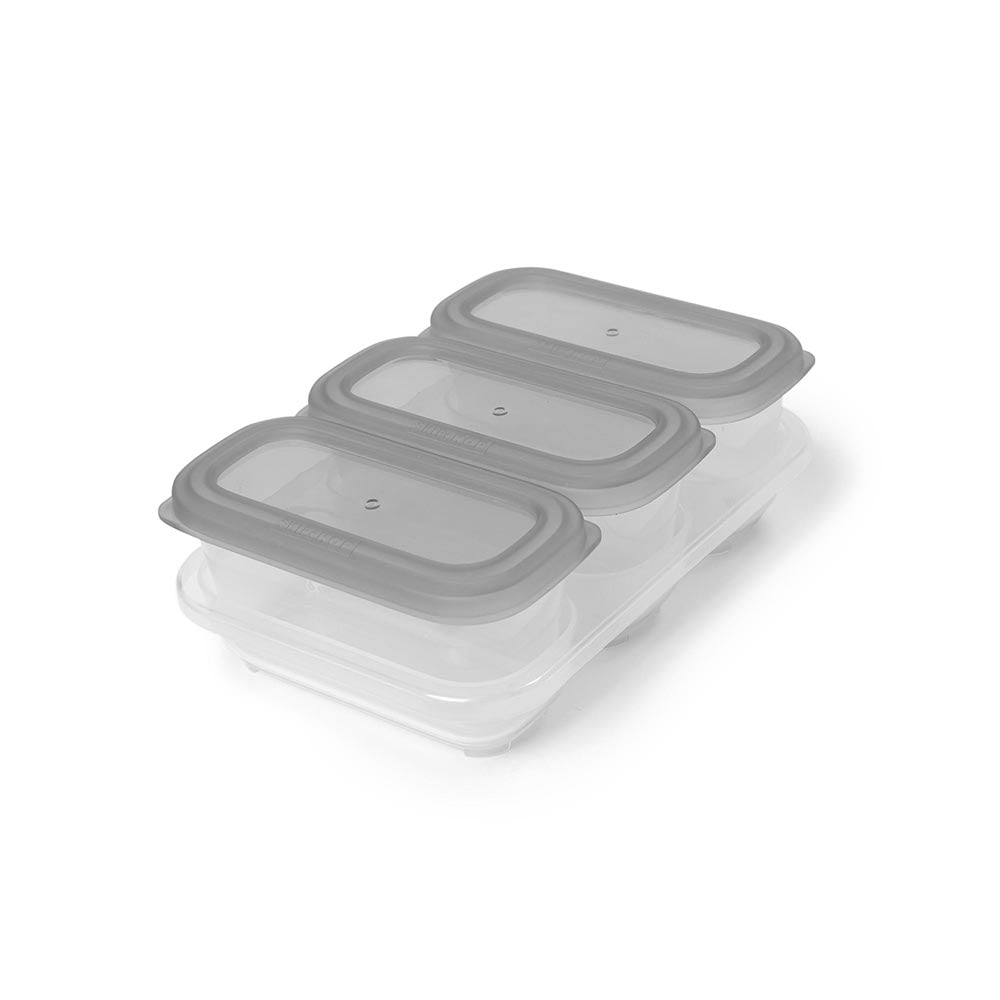 Easy-Store 6 Oz. Containers - Grey