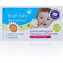 Load image into Gallery viewer, TeethingWipes (0-16 months) With Chamomile