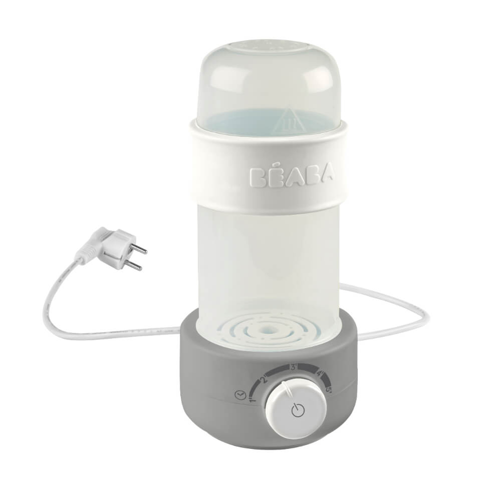 Baby Milk Bottle Warmer - Grey