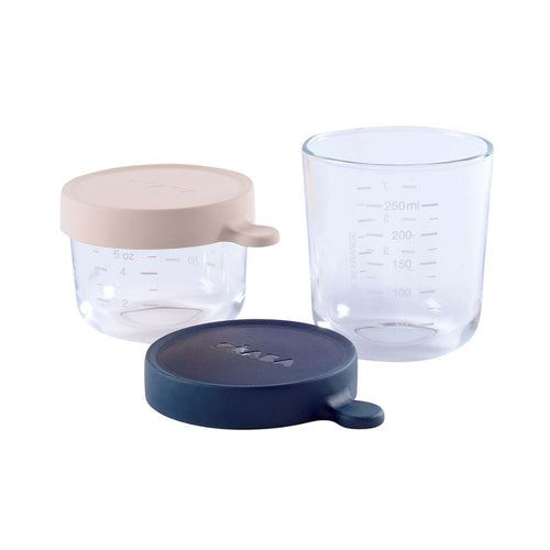Set of Glass Conservation Jars - 150/250 ml
