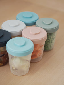 Toddler Food Storage Set - 6 Clip Portions (6x250 ml)