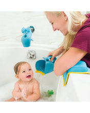 Load image into Gallery viewer, Moby Waterfall Bath Rinser - Blue