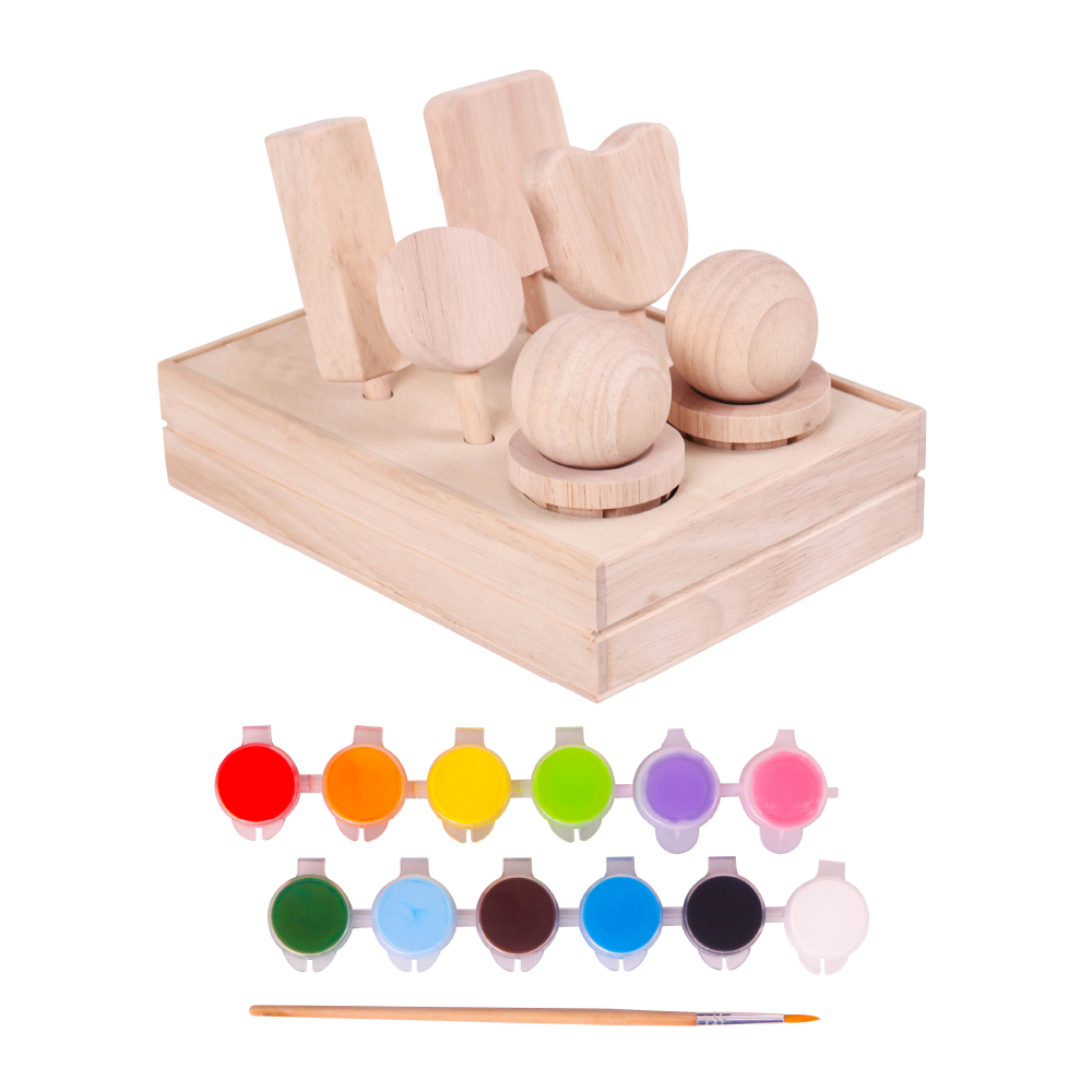 Paint and Play Ice Cream Set